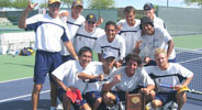 Men's tennis Big West champs