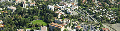 Aerial view of UCI